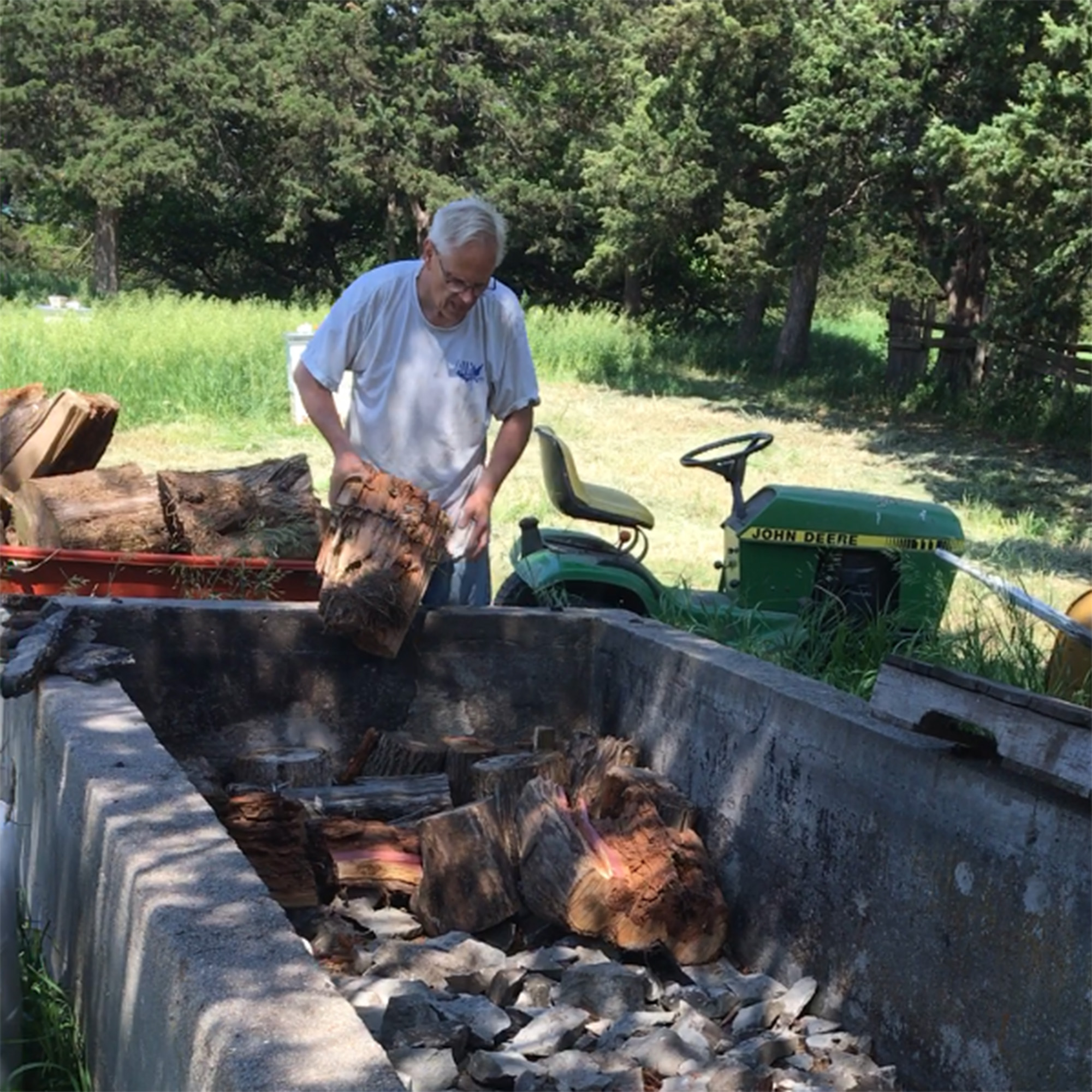Cedar Bluffs couple brings German practice of Hugelkultur to their rural property