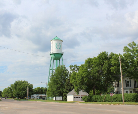 Water tower in O'Neill