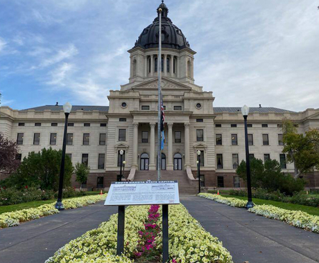 South Dakota capitol building